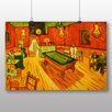 Big Box Art 'The Night Cafe' by Vincent Van Gogh Art Print