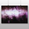 """Big Box Art """"Purple Abstract Blur"""", Grafikdruck"""