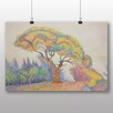 Big Box Art 'Colourful Tree' by Paul Signac Art Print