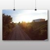 Big Box Art 'Sunset Over the Railway' Photographic Print
