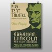 Big Box Art Poster Abraham Lincoln, Retro-Werbung