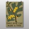 Big Box Art Only God Vintage Advertisement