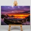 Big Box Art Nikola Ostrun Sunset Lake Graphic Art on Canvas