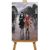 "Big Box Art Leinwandbild ""Two Girls"" von Lesser Ury, Kunstdruck"