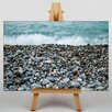 Big Box Art Leinwandbild Pebble Beach, Grafikdruck