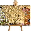 Big Box Art The Tree of Life by Gustav Klimt Art Print on Canvas