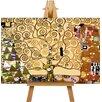 Big Box Art The Tree of Life by Gustav Klimt Art Print on Canvas