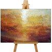 "Big Box Art Leinwandbild ""Sun"" von Joseph Mallord William Turner, Kunstdruck"
