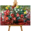 Big Box Art Leinwandbild Tulip Study, Kunstdruck von Pal Merse