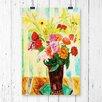 Big Box Art Blooming Flowers by Isaac Grunewald Painting Print