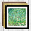 Big Box Art Apple Tree by Gustav Klimt Framed Painting Print