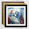 Big Box Art The Sick Child by Edvard Munch Framed Painting Print