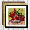 Big Box Art Roses by Carl Moll Framed Painting Print
