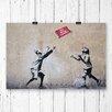Big Box Art No Ball Games Graffiti by Banksy Photographic Print
