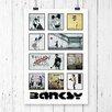 Big Box Art Montage Wall Graffiti by Banksy Graphic Art