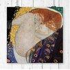 Big Box Art Danae by Gustav Klimt Painting Print