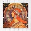 Big Box Art Alphonse Mucha Zodiac Painting Print