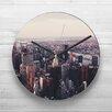 Big Box Art 32cm View of New York City Skyline Wall Clock