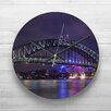 Big Box Art 32cm Sydney Australia  Harbour Bridge Wall Clock