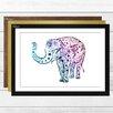 Big Box Art 'Elephant 2' Framed Graphic Art