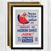 Big Box Art Vintage WPA Modern Dance Framed Vintage Advertisement