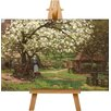 Big Box Art Landscape No.7 by Alfred Sisley Art Print on Canvas