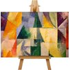 Big Box Art Abstract by Robert Delaunay Art Print on Canvas