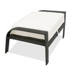 Castellano by Ancient Mosaic Studios Catalina Ottoman with Cushion