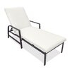Castellano by Ancient Mosaic Studios Catalina Chaise Lounge with Cushion