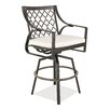 "Castellano by Ancient Mosaic Studios Catalina 28.6"" Bar Stool with Cushion"