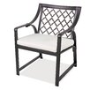 Castellano by Ancient Mosaic Studios Catalina Dining Arm Chair with Cushion