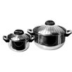 Imperial Home 4 Piece Pasta Pots Set - 6Qt and 2Qt Pots