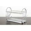 Imperial Home Elegant 2 Tier Stainless Steel Dish Drainer
