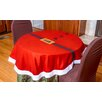 "Imperial Home 54"" Santa Claus Round Table Cloth Cover"