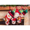 "Imperial Home 3 Piece 18"" Cute Santa's Toys Stocking Set"