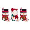 """Imperial Home 3 Piece 18"""" Cute Santa's Toys Stocking Set"""
