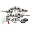 Imperial Home High Quality Stainless Steel 13-Piece Cookware Set