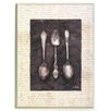 ERGO-PAUL Antique Spoons Painting Print