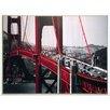 ERGO-PAUL Cars, Golden Gate Bridge, San Francisco Painting Print