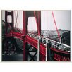 ERGO-PAUL Kunstdruck Autos, Golden Gate Bridge, San Francisco - 61 x 81 cm