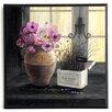ERGO-PAUL Kunstdruck Kräuter Gartenfenster - 31 x 31 cm