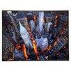 ERGO-PAUL Kunstdruck Luftaufnahme der Wall Street - 61 x 81 cm