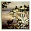 ERGO-PAUL Tranquil Bay Framed Painting Print