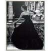 ERGO-PAUL Gerahmtes Kunstdruck Schwarzes Abendkleid Rom