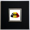 ERGO-PAUL Belgian Kiss Framed Painting Print
