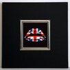 ERGO-PAUL English Kiss Framed Painting Print