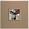 ERGO-PAUL Red Deer I Framed Painting Print
