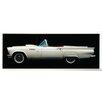 ERGO-PAUL 1957 Ford Thunderbird Cabriolet Painting Print