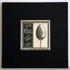 ERGO-PAUL French Menu I Framed Painting Print