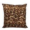 Meridian Furniture USA Delano Décor Leopard Cotton Throw Pillow